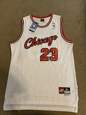 Michael Jordan ROOKIE 1984 #23 Throwback Men's Jersey With Script Chicago Logo