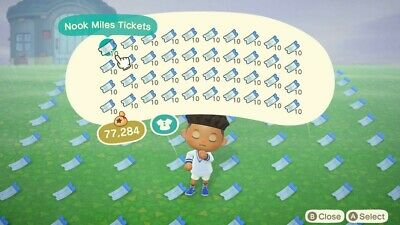 400 NMT Nook Mile Ticket Animal Crossing New Horizon ACNH INSTANT DELIVERY