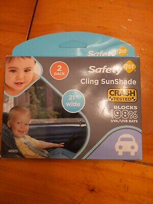 Safety 1st Baby On Board Sunshade, 2 Pack