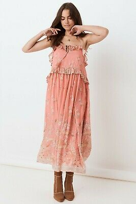 NWT Spell & The Gypsy Collective Hendrix Strappy Maxi Dress (Medium)