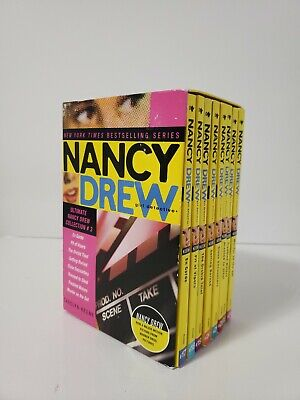 NANCY DREW Girl Detective book set #17-24
