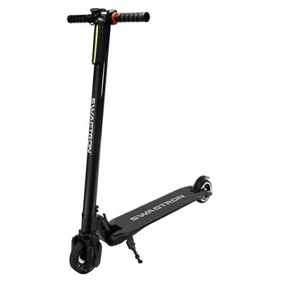Swagtron Swagger 1 High Speed Adult Electric Scooter Ultra-Lightweight Black