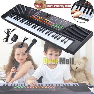 54 Key Music Electronic Keyboard Electric Piano with Mic for Kids & Adults Gifts