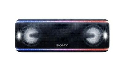 Sony SRS-XB41 Portable Extra Bass Bluetooth Speaker With NFC/ Lights - BLACK