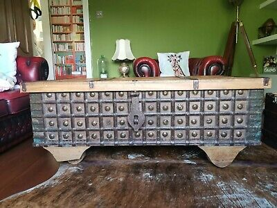 Antique Anglo Indian Large Coffer