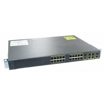 Cisco WS-C2960G-24TC-L V03 24 Port Gigabit Switch