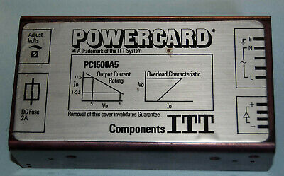 Pc1500A5 Power Supply, 5 Volts, 1.5 Amps