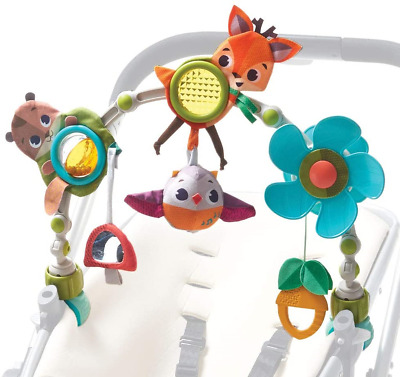 Tiny Love Musical Nature Stroll Activity Arch, Stroller Arch with Animal Toys, 0