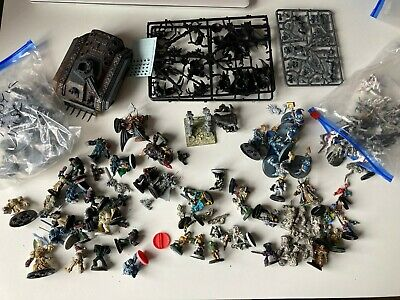 Warhammer 40,000 job lot - Lots of vintage metal and plastic minis