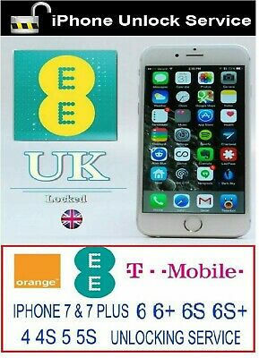 EE IPHONE UNLOCK CODE -11,11 PRO,XS,XR,XS MAX, X, 8,8+,7,7+,6+6 super fast