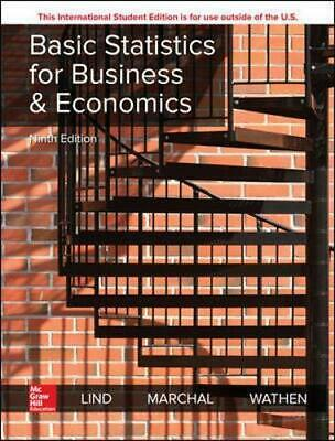 Basic Statistics for Business and Economics by Wathen, Samuel,Marchal, William,L
