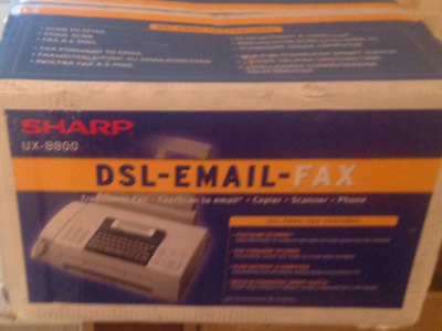 Sharp Ux-8800  Dsl-Email- Fax