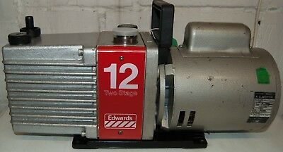 E2M12 Edwards Rotary Vane Vacuum Pump