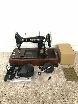 NEWLY SERVICED Singer 99k Heavy Duty Sewing Machine sew Leather Canvas Denim