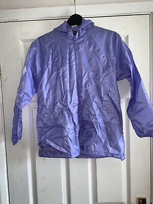 Rainy Days Girls Jacket. Lilac. Size 28 (age 9)