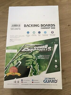100 Ultimate Guard  GUARD CHRONICLES  BACKING BOARDS SIZE 171 X 266 MM