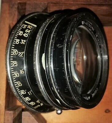 """Taylor And Hobson Cooke Apotal Process Lens 18"""" F/9"""