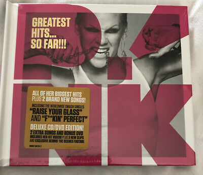 Pink Greatest Hits So Far Deluxe CD/DVD Edition