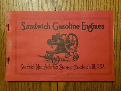 Sandwich Gasoline Engine Illinois Catalog