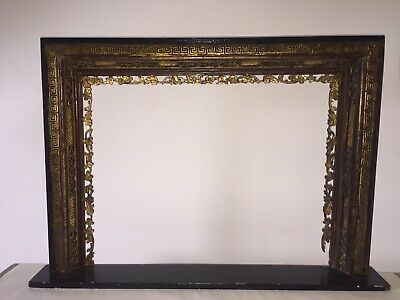 Chinoiserie Mirror Frame With Shelf