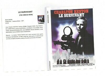 film DVD science-fiction Le survivant (Charlton HESTON) très très rare