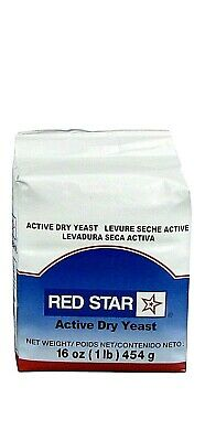 Red Star Active Dry Yeast- 1 Lb / 16 oz Fast Handling and ShippingExp 12/21