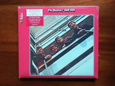 The Beatles 1962-1966 Red CD Album Greatest Hits Limited Edition Remastered