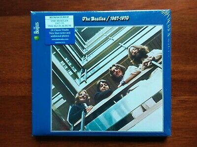 The Beatles 1967-1970 Blue CD Album Greatest Hits Limited Edition Remastered