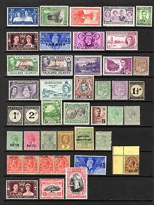 EMPIRE/COMMONWEALTH QV TO 1960's MNH & MOUNTED MINT RANGE OF ODDS x 122 STAMPS