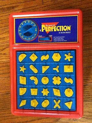 Perfection Board Game tested and Working Milton Bradley