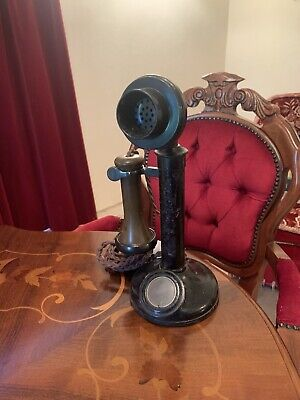 ANTIQUE CANDLESTICK TELEPHONE TE234 No22