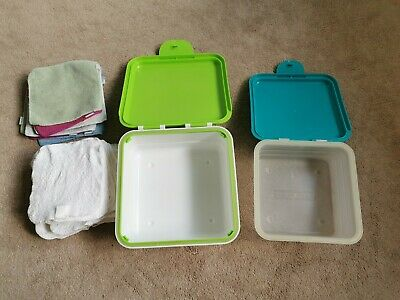 Cheeky Wipes - boxes & wipes, excludes mesh bag. Good used condition.