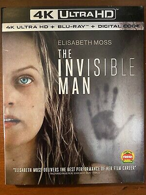 The Invisible Man (4K Ultra HD + Blu-ray)—No Code—Free Shipping