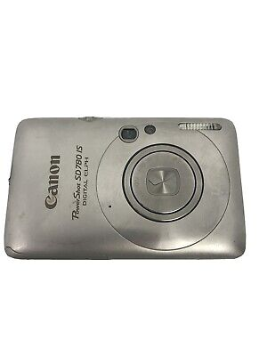 Canon PowerShot Digital Elph SD780 IS Digital Camera Silver. CAMERA/BATTERY ONLY