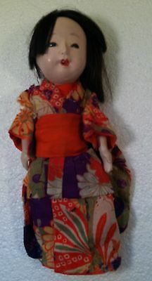 Antique Signed Japanese Doll