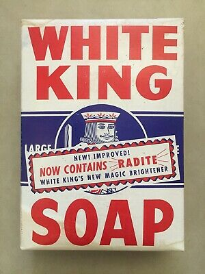 Unopened White King Soap Box From 1933