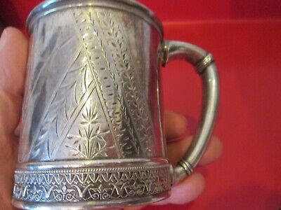AESTHETIC Period & Style  1879 GORHAM - STERLING - PRESENTATION CUP -   #3