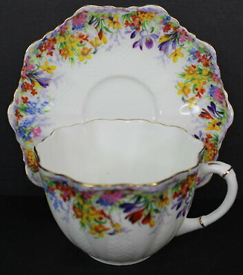 Paragon Daisy Vintage Bone China Tea Cup and Saucer Floral Flowers England