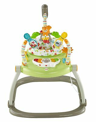Jumperoo Fisher Price Baby Activity Bouncer Woodland Friends Space Saver