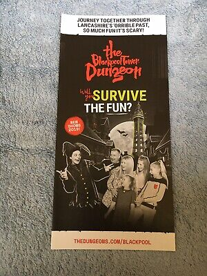 The Blackpool Tower Dungeon 2019 Leaflet