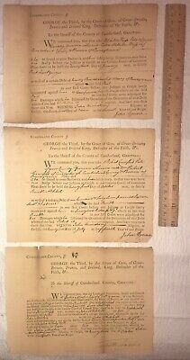 1774 1775 1776 George Ill Pennsylvania Colony Province Documents Early Settlers