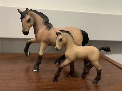 Schleich Horse Set Stallion And Foal