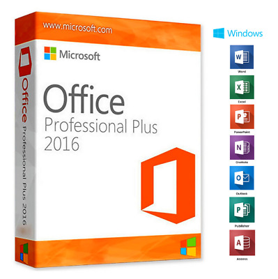 Microsoft Office 2016 Pro Plus Activator License Key✅32/64 Bit Instant delivery