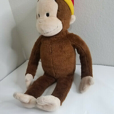 "Curious George Large Plush Macy 25"" Kids Cartoon PBS Collectible Movie"