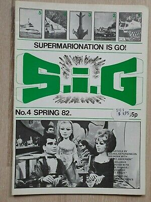 SiG Supermarionation is Go No. 4 Spring, 1982