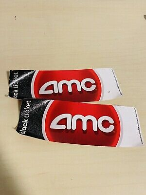 2 AMC Theatre Black Movie Tickets - No Expiration