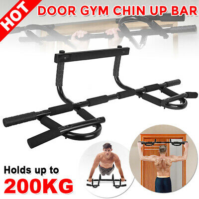 Portable Gym Chin Up Bar Pull Up Bar Home Door Doorway Exercise Workout Fitness