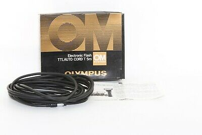 Olympus Electronic Flash TTL Auto Cord T 5m (boxed)