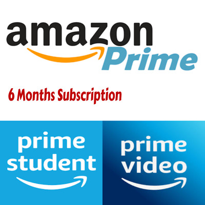 Amazon Prime Account 6 Months Student Membership ✅ Fast Delivery ✅