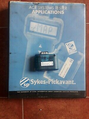 Sykes pickavant Acr4 G2 Pod 18.2  , And Applications Book
